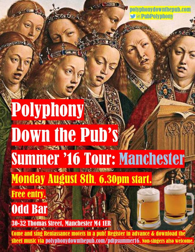 PDtP Summer Tour 2016 Manchester poster final