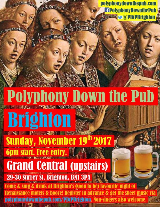 PDtP Brighton poster